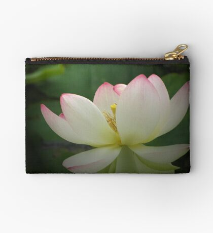 Lotus in light Studio Pouch