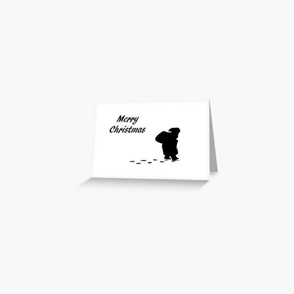 Christmas card - Santa  Greeting Card