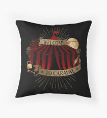Welcome To Caraval Throw Pillow