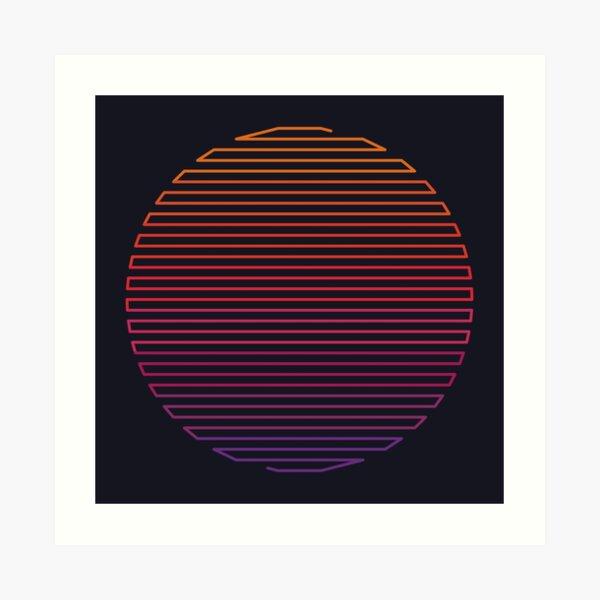 Linear Light Art Print