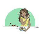 Food Cat by Rowan Lee-Foyster