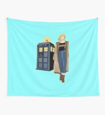 THE DOCTOR IS IN SMOOTH VERSION  Wall Tapestry