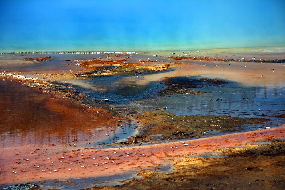 Yellowstone Geyser Basin by noffi