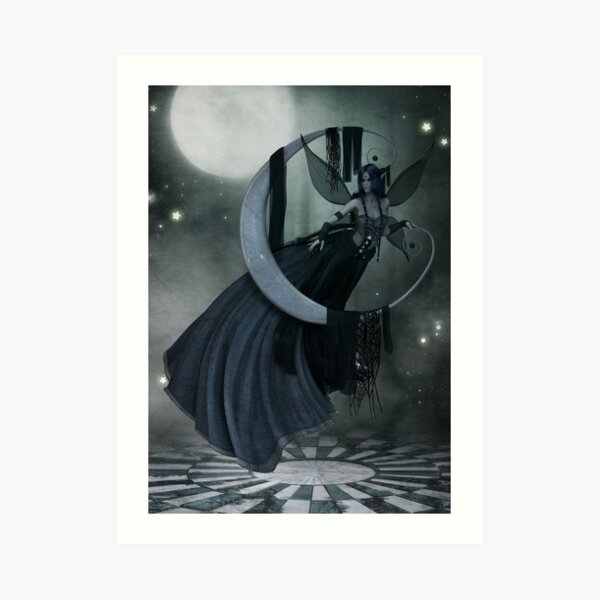 Luna 1 Art Print
