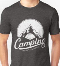 Camping Mountain Hotel T-Shirt