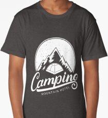 Camping Mountain Hotel Long T-Shirt