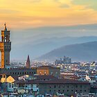 Florentine Sunset by metriognome