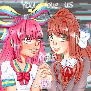 Monika and Giffany by pommelstudios