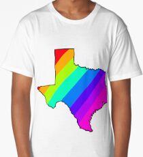 Texas rainbow  Long T-Shirt