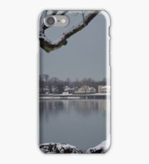 Mirrors and Mirages on Long Island Sound iPhone Case/Skin