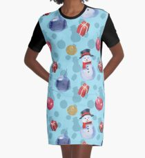 Happy New Year! Graphic T-Shirt Dress