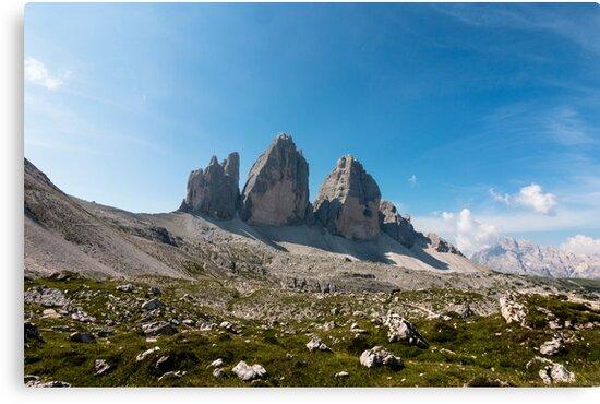 Three peaks of Lavaredo by pietrofoto