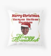 Kiss my.... Christmas Vacation ver.2 Throw Pillow