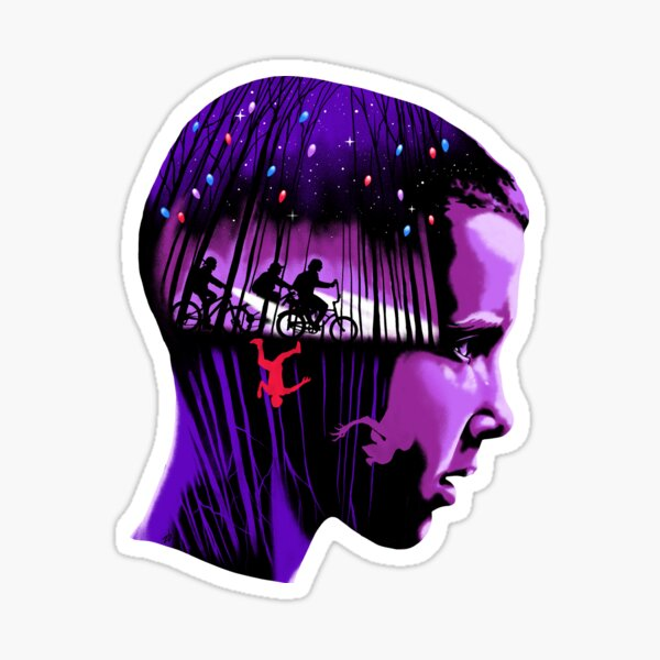 Stranger Things Eleven Sticker