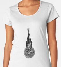 The Sacred Whale  Women's Premium T-Shirt