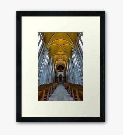 Trinity 3 Framed Print