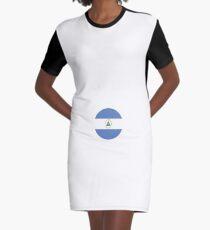 queen love princesses NICARAGUA gift christmas Graphic T-Shirt Dress
