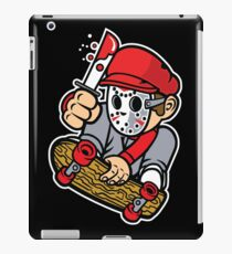 Skateboard Killer Parody Cartoon Lookalike iPad Case/Skin