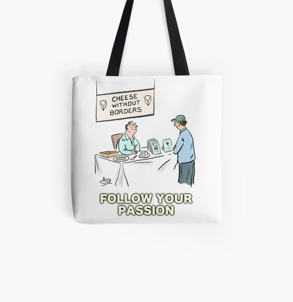 Follow your passion All Over Print Tote Bag