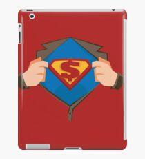 Secret hero iPad Case/Skin
