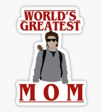 Steve Harrington - World's greatest mom Sticker