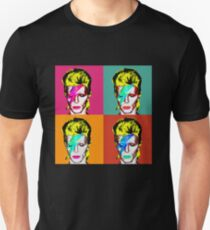 David Bowie - Andy Warhol T-Shirt