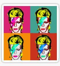 David Bowie - Andy Warhol Sticker