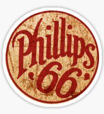 Vintage Phillips 66 gas station sign USA Sticker