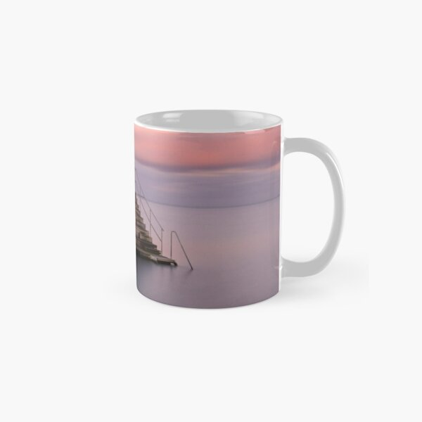 Stepping into the horizon Classic Mug