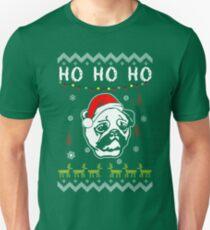 Pug Ho Ho Ho Ugly Christmas Fun Sweatshirt Sweater T-shirt T-Shirt