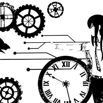 Steins Gate: Makise Kurisu Trapped in Time | Steins;Gate 0 by Qrio