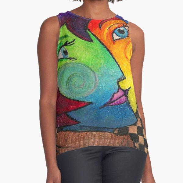 Pablo Picasso Sleeveless Top