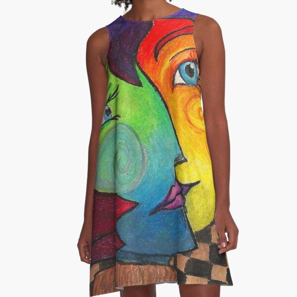 Pablo Picasso A-Line Dress