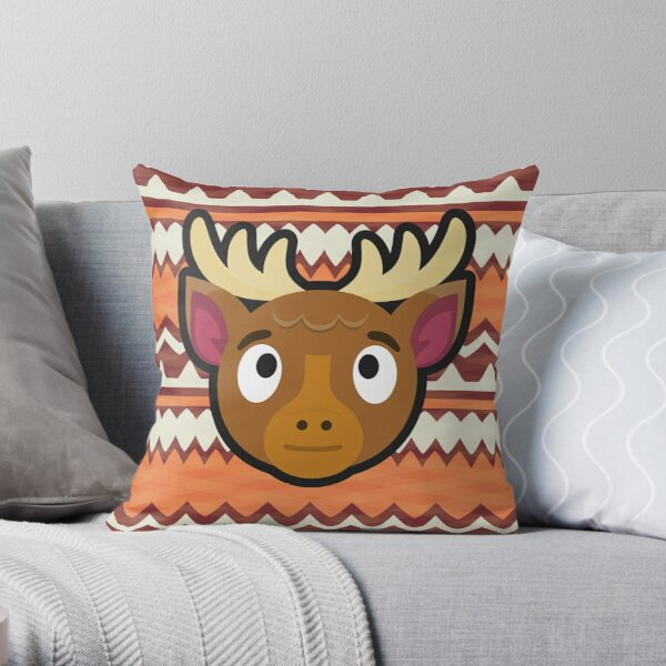 ERIK ANIMAL CROSSING Throw Pillow