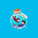 Sterek Bottle Trust by siny