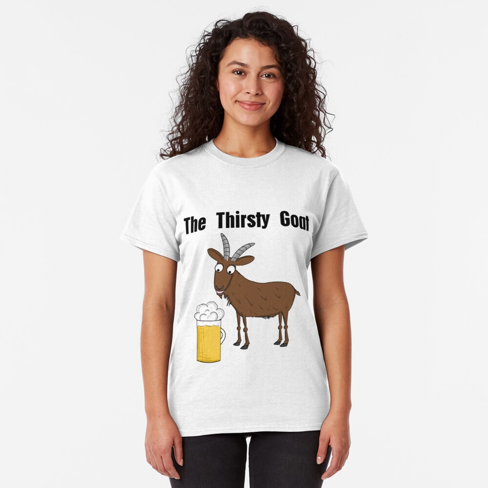Neil, The Thirsty Goat Classic T-Shirt