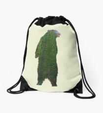 Brownbear Wilderness Drawstring Bag