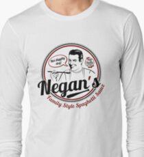 Negans Family Style Spaghetti Sauce Langarmshirt