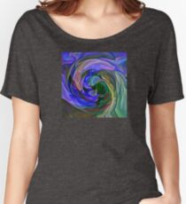 cyclone center,abstract Women's Relaxed Fit T-Shirt
