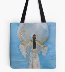 Mondfrau Himmelblau Tasche
