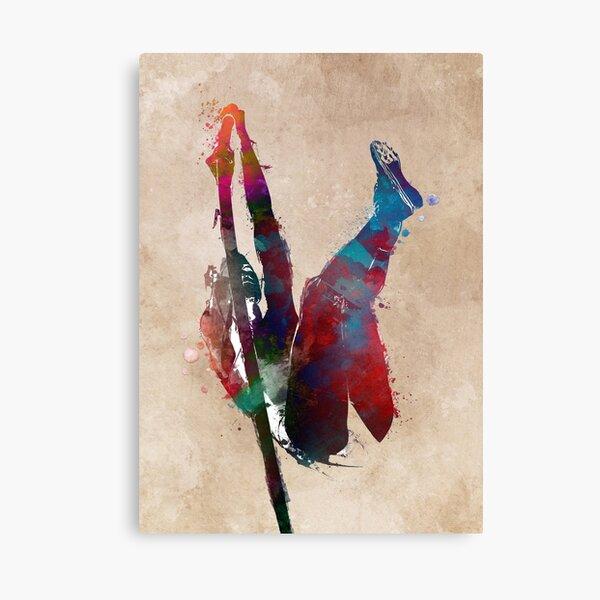 pole vault art 1 #athletics #sport Canvas Print