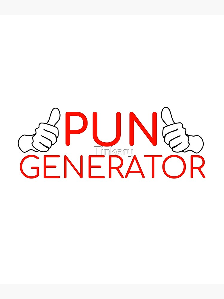 Pun Generator Greeting Card By Tinkery Redbubble