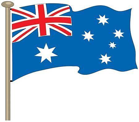 Australian Flag by TDesigns89