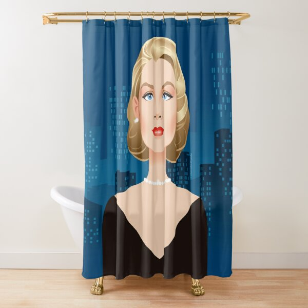Rear window Shower Curtain