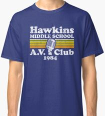 Hawkins Middle School A.V. Club Classic T-Shirt