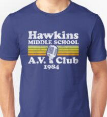 Camiseta ajustada Club de AV Hawkins Middle School
