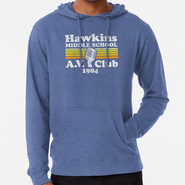 Hawkins Middle School A.V. Club Lightweight Hoodie
