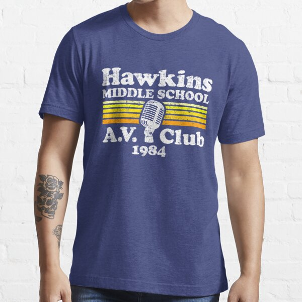 Club de AV Hawkins Middle School Camiseta esencial