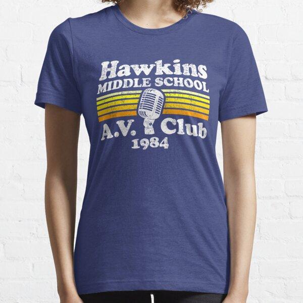 Hawkins Middle School A.V. Club Essential T-Shirt