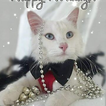 Happy Holidays New Years card by BootheDeafKitty